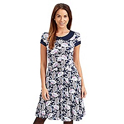 Joe Browns - Multi coloured raffles dress