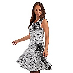 Joe Browns - White sassy skater dress