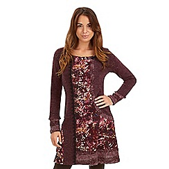 Joe Browns - Dark red winter warmer dress