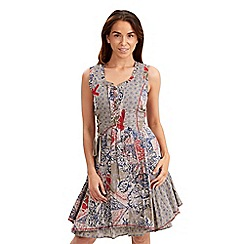 Joe Browns - Multi coloured patchwork dress