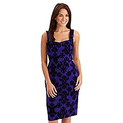 Joe Browns - Blue fabulously flocked senorita dress