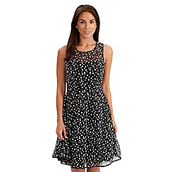Joe Browns - Black lovely lace skater dress