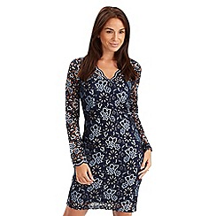 Joe Browns - Navy luxury lace dress