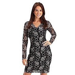 Joe Browns - Multi coloured luxury lace dress