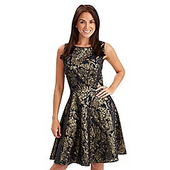 Joe Browns - Multi coloured marvellous metallic skater dress