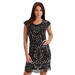 Joe Browns - Black beaded dress