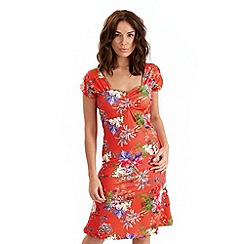 Joe Browns - Red tamarindo dress