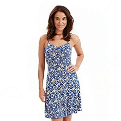 Joe Browns - Blue playa del coco dress