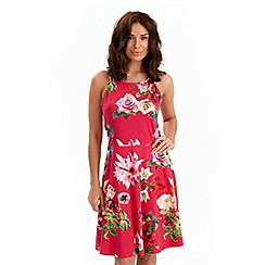 Joe Browns - Red dragonfly dress