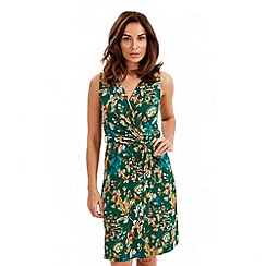 Joe Browns - Green goddess wrap dress