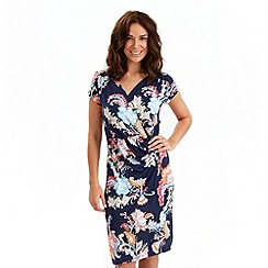Joe Browns - Multi coloured heliconia flower dress