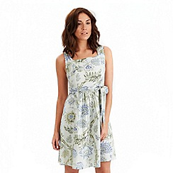 Joe Browns - Pale green vintage tea dress