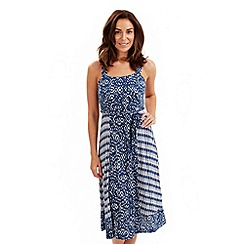 Joe Browns - Navy pacific ocean dress