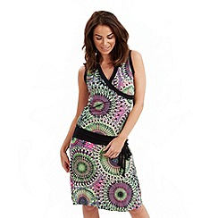 Joe Browns - Multi coloured pura vida drop waist dress