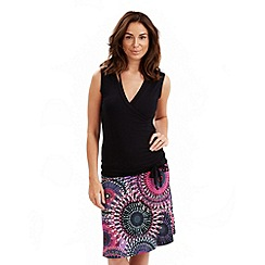 Joe Browns - Black pura vida drop waist dress