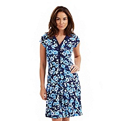 Joe Browns - Navy twit twoo jersey shirt dress
