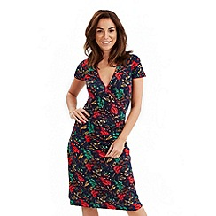 Joe Browns - Multi coloured flor de cana wrap dress