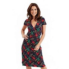 Joe Browns - Multi coloured flor de cana wrap dress