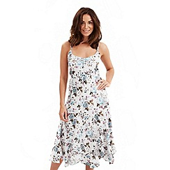 Joe Browns - White vintage floral dress