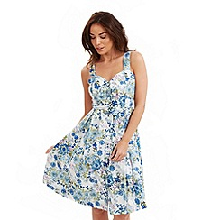 Joe Browns - Multi coloured sizzling button through sundress