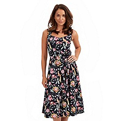 Joe Browns - Multi coloured tropical bird bow dress