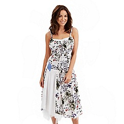 Joe Browns - White sexy salsa dress