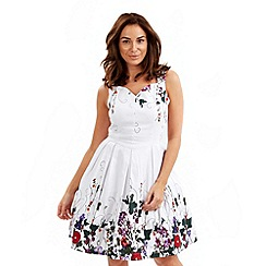 Joe Browns - White prim and prom dress