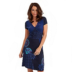 Joe Browns - Blue tribal dress