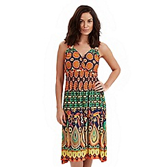 Joe Browns - Multi coloured crazy carnival dress