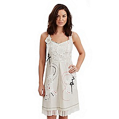 Joe Browns - Cream distinctive dress