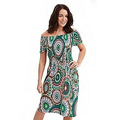 Joe Browns - Multi coloured striking salsa dress