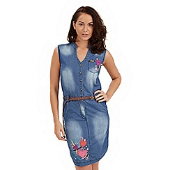 Joe Browns - Blue delightful denim dress