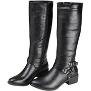Black anytime riding boot