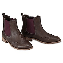 Joe Browns - Chocolate fab 'n' funky chelsea boots