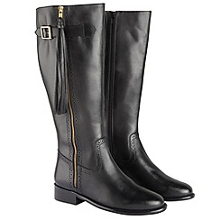 Joe Browns - Black lovely leather tassel boots
