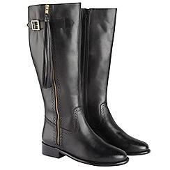 Joe Browns - Black lovely leather tassel boots