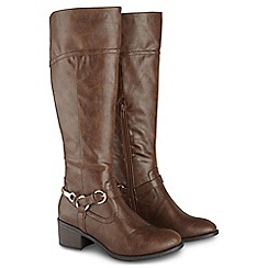 Joe Browns - Brown ultimate riding boots