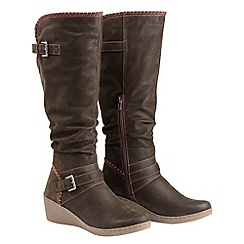 Joe Browns - Brown funky knee high riding boots