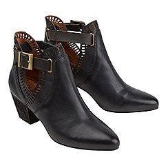 Joe Browns - Black fabulous cut out ankle boots
