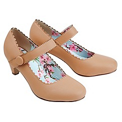 Joe Browns - Natural joe's vintage heel shoes