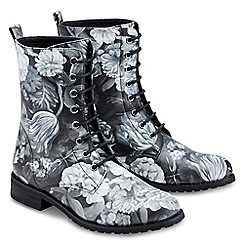 Joe Browns - Multi coloured fab and funky floral boots