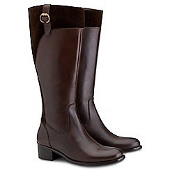 Joe Browns - Chocolate classic riding boots