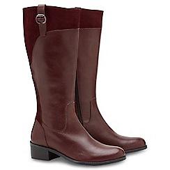 Joe Browns - Dark red classic riding boots