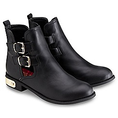 Joe Browns - Black cut out ankle boots