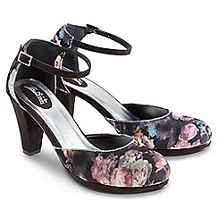 Joe Browns - Multi coloured platform floral shoes