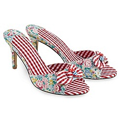 Joe Browns - Multi coloured san antonio mules