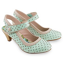 Joe Browns - Pale green joe's vintage heel shoes