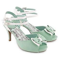 Joe Browns - Pale green peggy sue diner sandals
