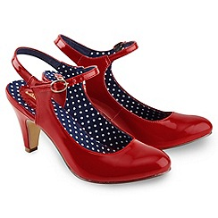 Joe Browns - Red my favourite sling back shoes