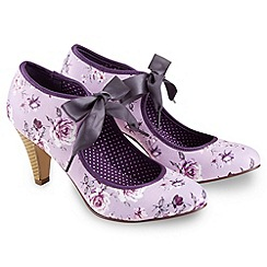 Joe Browns - Purple sing me the blues tie shoes